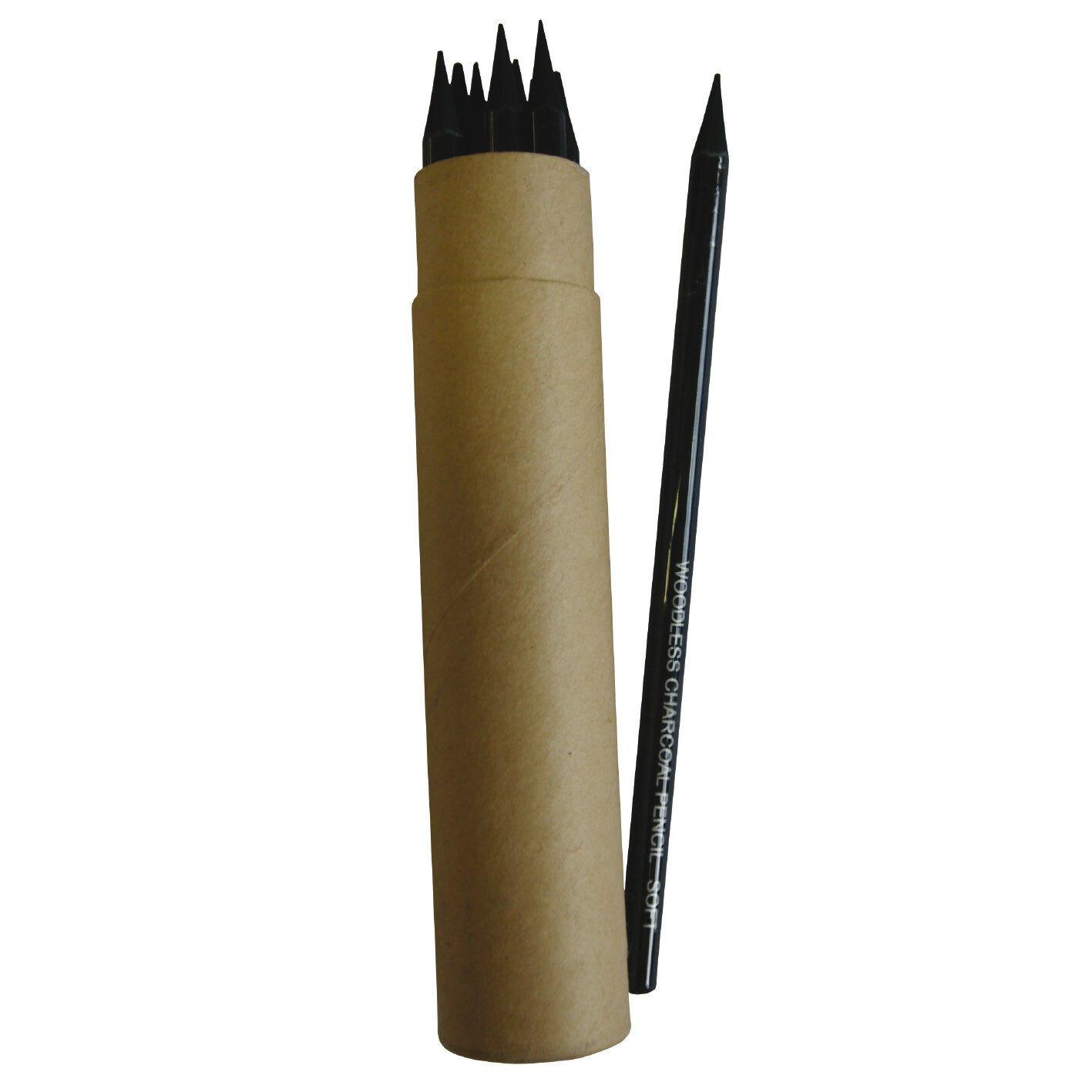 Woodless Charcoal Pencils - S&S Wholesale