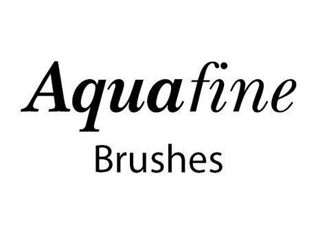 281.Rowney Aquafine Brushes